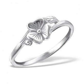 "Stříbrný prsten ""Magický květ"". Ag 925/1000"